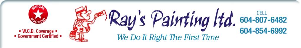 Ray's Painting Ltd.